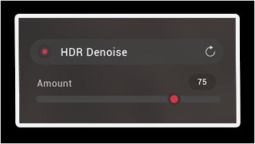 HDR Denoise